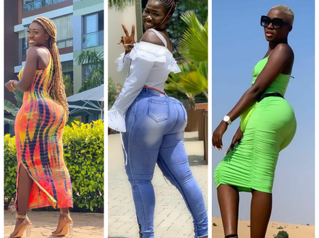 Ass Battle Between 3 models In Ghana And Their Amazing Photos