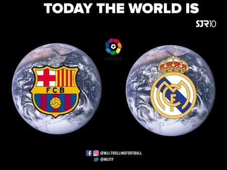 The biggest game on the planet THE EL CLASICO:MAKE YOUR PREDICTIONS
