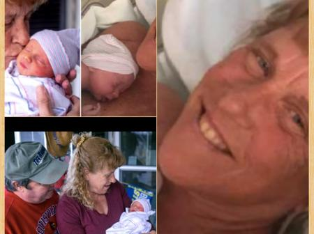 After She Lost Her Only Daughter To Brain Tumor 5 Years Ago, She Just Gave Birth To A Boy At Age 57