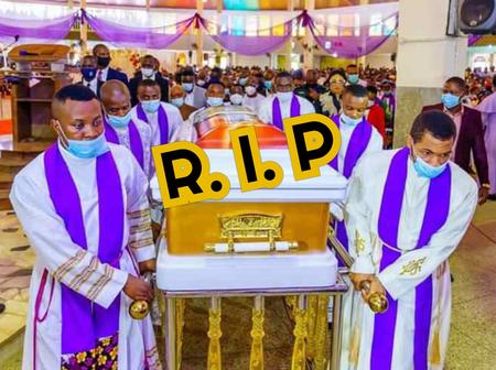Photos Of The Burial Mass Of Catholic Bishop, Most Rev Gregory Obinna