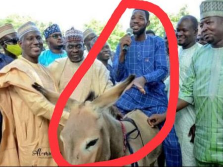 Kano State Governor's Aide Empowers Youths With Donkeys And Bicycles