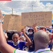 Man Loses His Life During A Protest, Mzansi Is Breathing Fire. (This Is What Happened)