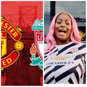 United Fans React After DJ Cuppy Said She Staked A Bet Against Manchester United
