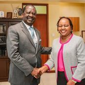 Ann Waiguru Spills More Beans On Raila's Meeting With Gideon and Muhoho Kenyatta Yesterday