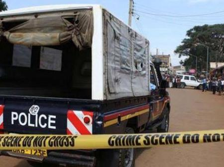 Horror Scenes In Nyamira After A Man Brutally Slaughters His 2 Kids Following a Fight With The Wife