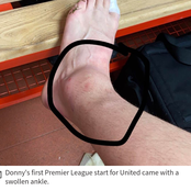 How Donny Van De Beek played through Injury to help United win Southampton.