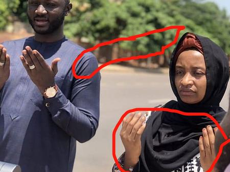 See The Latest Pictures Of Kannywood Actress Rahama Sadau Seeking For Allah's Forgiveness