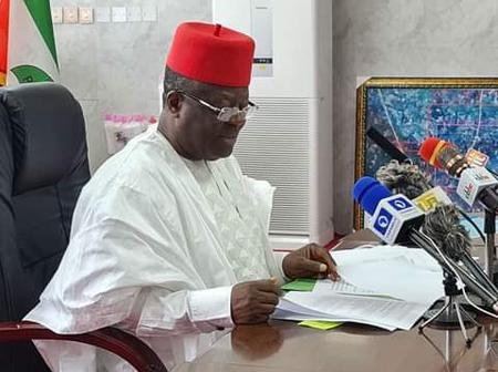 Governor Umahi Approves for Resumption Date for State University and Payment of Staff Salary
