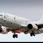 The United States Navy Boeing Poseidon P-8A Maritime Patrol Aircraft.