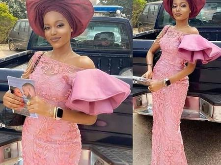 38 photos of lace gown styles your tailor can make for you this Christmas