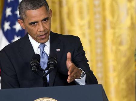 Barrack Obama addresses the world on threats of climate change