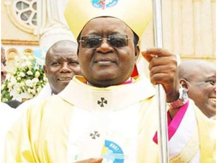 Catholic Archbishop found dead in his bedroom after celebrating Good Friday mass.