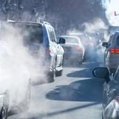 How does car gases affect the environment ?
