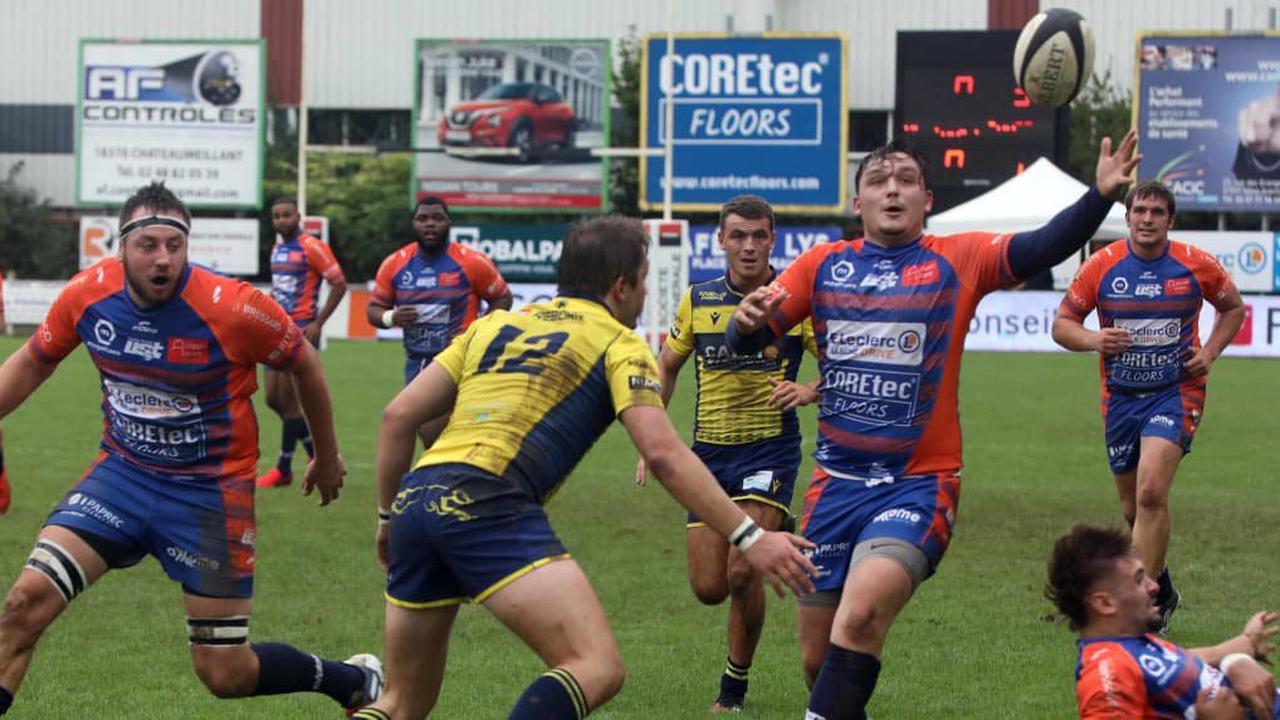 Rugby (Fédérale 2): l'US Tours a commis trop d'erreurs face à Courbevoie