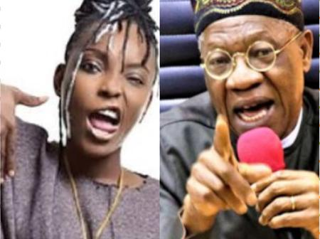 LekkiTollGateShooting: Dj Switch attacks Lai Mohammed, SEE What she posted