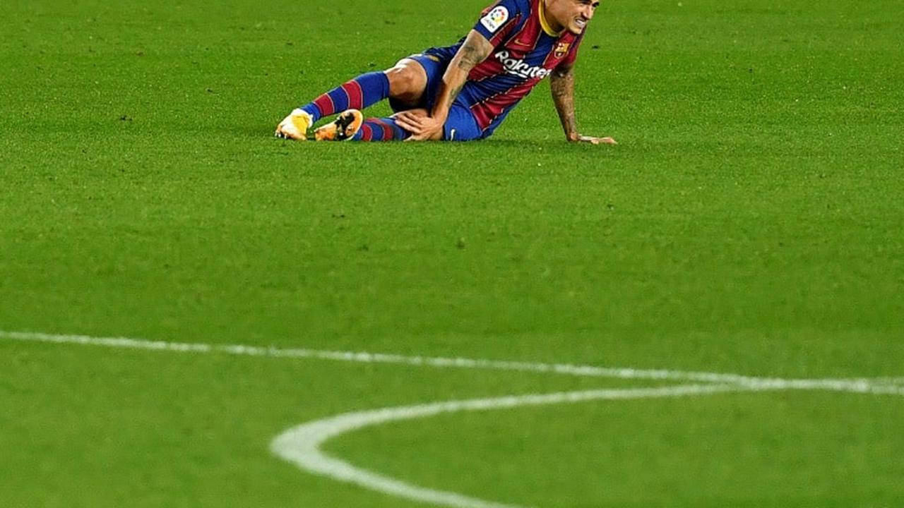 Coutinho injury blow for Barcelona