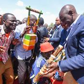 Hustler! Hustler! Kakamega Residents Chant As DP Ruto Addresses At Shianda {Video}