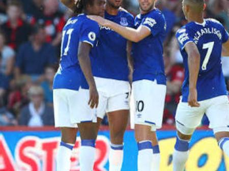 Everton coach Ancelotti names Super Eagles star among the players to replace Brazil star Richarlison