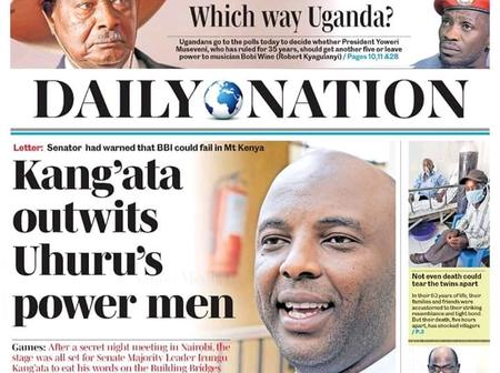 Kenyans React To Daily Nation Headline
