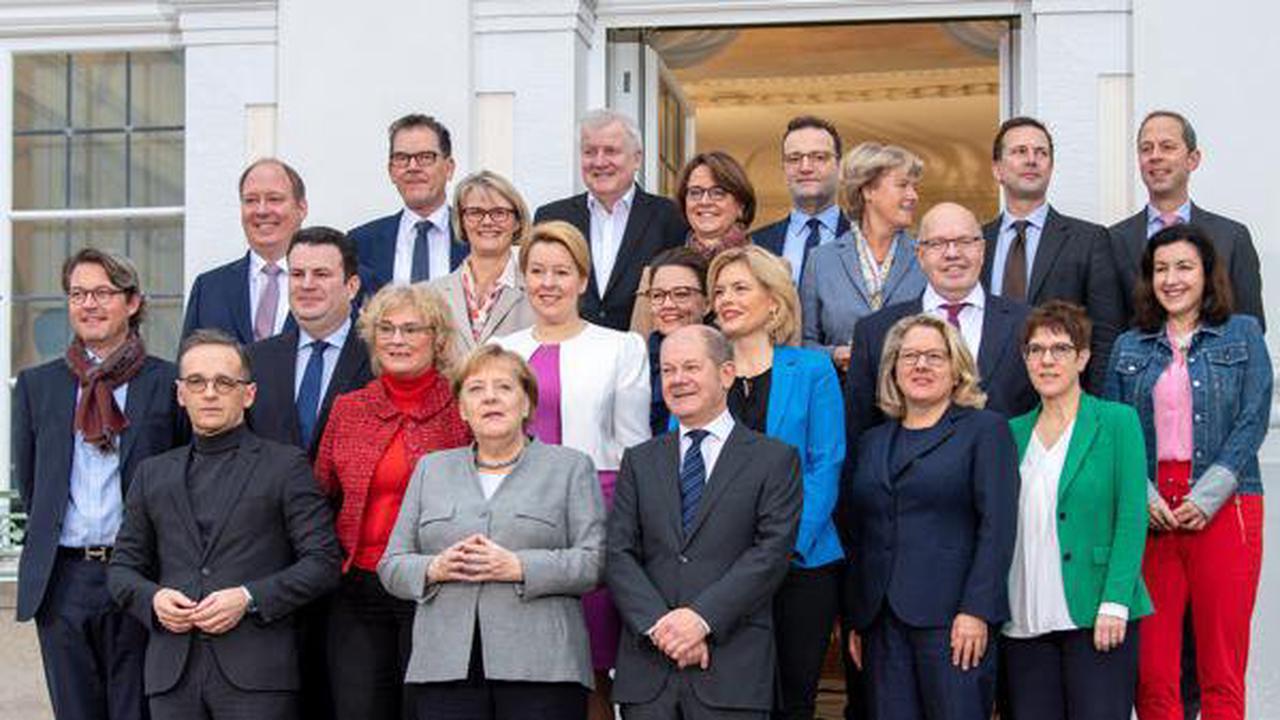 So gut war Merkels letztes Kabinett