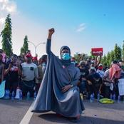 """#EndSARS: """"She Will Go Before You"""" Reactions- As Actress Requests That Aisha Yesufu Be Killed"""
