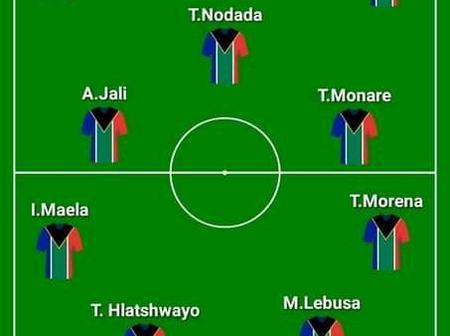 25 March 2021 : Bafana-Bafana Possible Starting XI Against Ghana