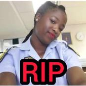 This Beautiful Female Police Officer Was Killed By Gunmen, Check Out How It Happened