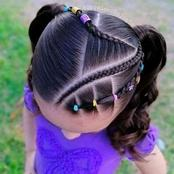 13 Beautiful pigtails for our little princess (see pictures)