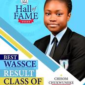 RIP: The Girl With The Best WAEC Result In 2019 Will Be Laid To Rest In December.