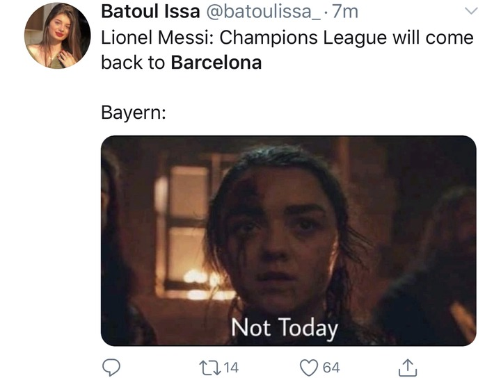 6074f1adca569f9a0bc8f30996a98ebe?quality=uhq&resize=720 - See how football fans trolled Barcelona after losing 8 goals to 2 against Bayern Munich