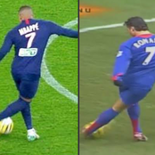 Kylian Mbappe Has been Copying Cristiano Ronaldo's Style For Years. See 10 Photos to Prove It.