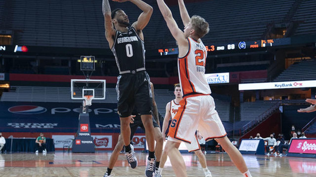 SU defensive adjustments eliminate Georgetown's high-low offense in win