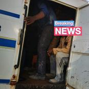 Undocumented Foreign Nationals Arrested By SAPS During Operation OkaeMolao.