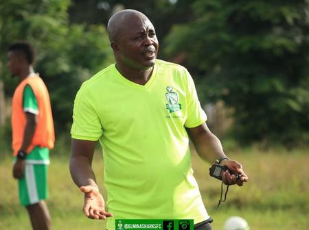 Hearts of Oak Chase Elmina Sharks Head Coach