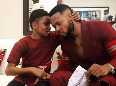 Few Years Ago After He Was Adopted By Flavour Nabania, See How He Has Recently Transformed.