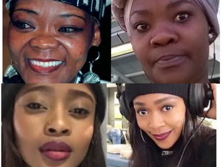 Check out these Mzansi celebs with their lookalikes. You'd swear they're siblings