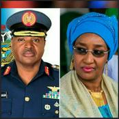 Remember Sadiya Farouq who was Rumoured to be Buhari's Mistress? She Just Married Chief of Air Staff