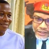 Igboho Should Not Be Touched - Nnamdi Kanu Blows Hot Over Failed Attempt To Arrest Sunday Igboho