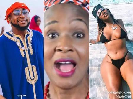 After Davido Was Seen Kissing Mya Yafai, Read What Kemi Olunloyo Said That Got Reactions