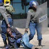 See Police beaten up by the churchgoers.