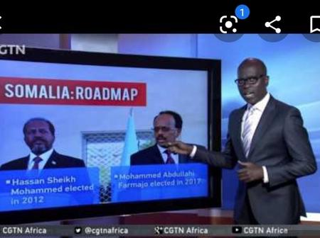 First-Ever As Mohammed Abdullahi, President Of Somalia Fight With His Vice In a Meeting.