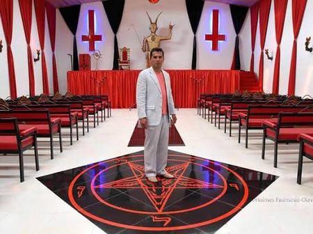 Nigerian Man Rebukes Church of Satan on Twitter, The Church Fires Back At Him (Photos)