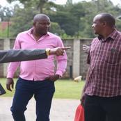 Former Minister Rashid Echesa Spotted Slapping IEBC Officer In Matungu
