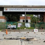 'UMP Students Sent A Strong Message To Blade Nzimande By Doing This;