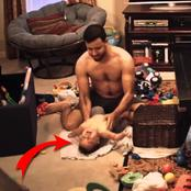 The wife was suspicious of her husband & She installed a hidden camera and found out this
