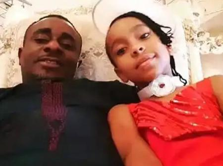 Check Out These Pictures of Emeka Ike And His Daughter Adanne
