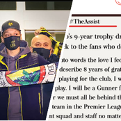 Immediately Ozil's transfer to Fernabache was confirmed, see what he posted on his Twitter account.