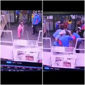 Do Not Mess With The Staff At Engen, See How They Beat These Two Troublemakers   Watch!