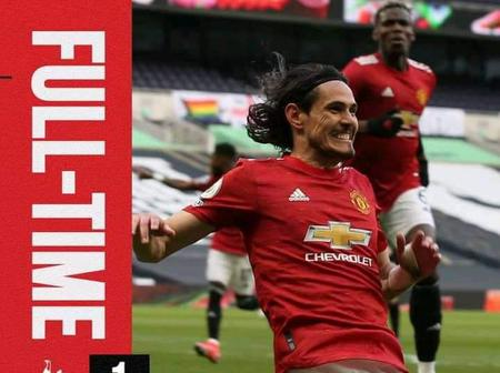 Manchester United Late Comeback Earns Them a win Over Tottenham