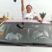 Législatives: présence remarquée d'Amira Lobognon à l'ouverture des campagnes législatives à Fresco